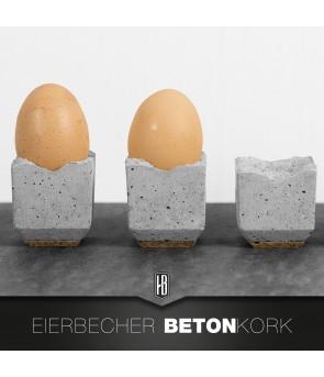 4ER SET DESIGN EIERBECHER...