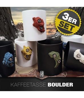 3ER SET KAFFEETASSE MATT...